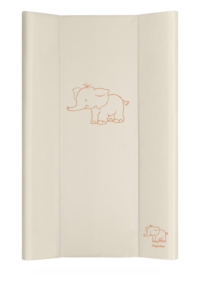 Přebalovací podložka Puppolina pevná Slon Krémová 50 x 80 cm