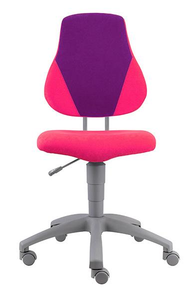 Rostoucí židle Fuxo V-line růžovo-fialová 343