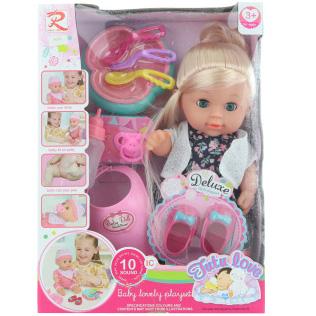 Dźwiękowa lalka z akcesoriami