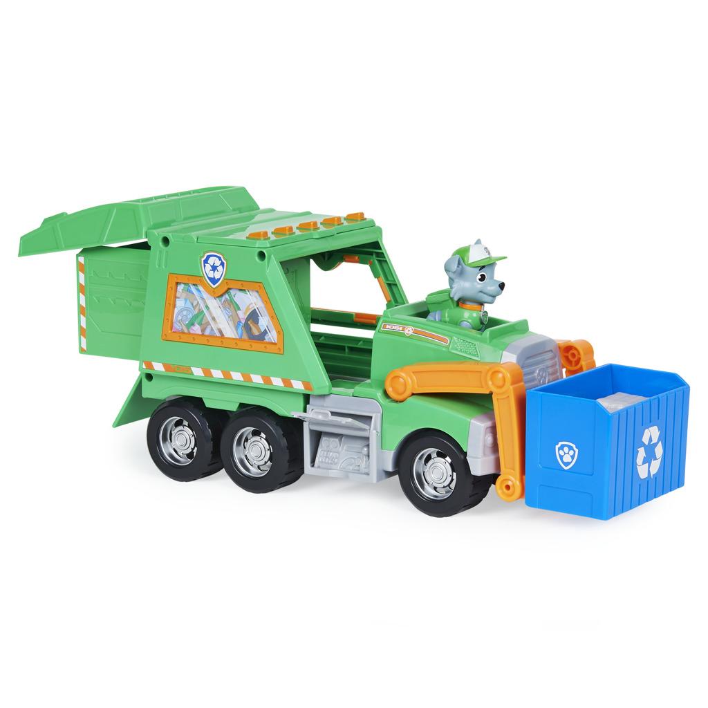 Psi Patrol Ciężarówka do recyklingu Rocky'ego