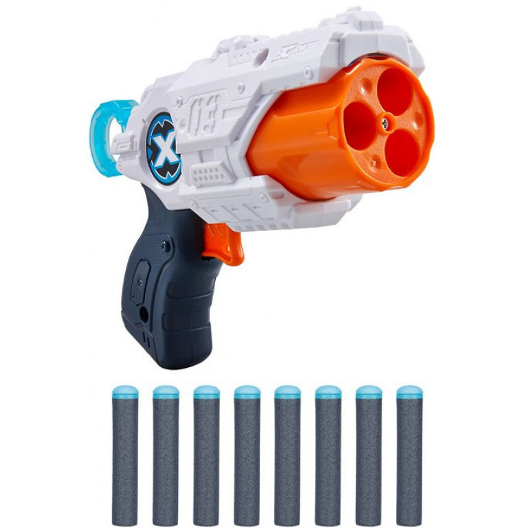 X-SHOT EXCEL MK 3 z obrotową lufą i 8 nabojami