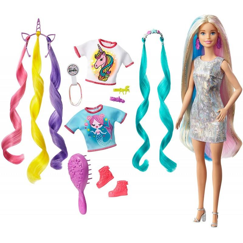 Barbie Panenka s pohádkovými vlasy