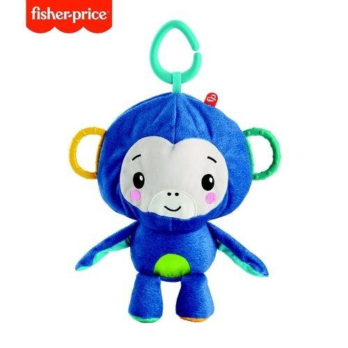 Małpka i piłka Fisher-price z działaniami