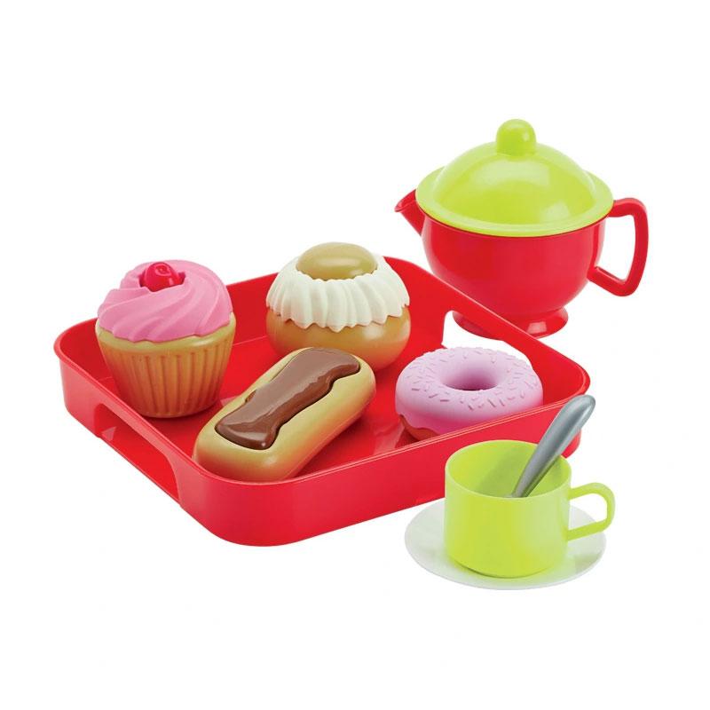Ecoiffier: Zestaw do herbaty i ciasteczek
