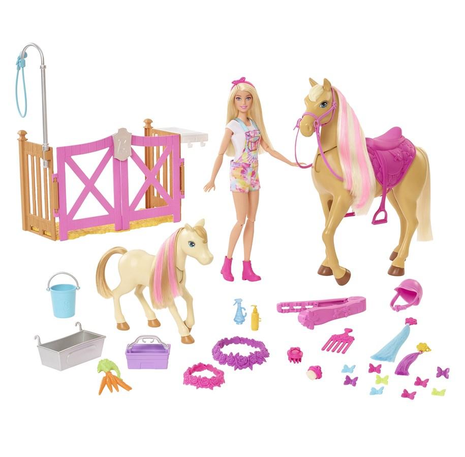 Barbie Rozkošný koník s doplňky
