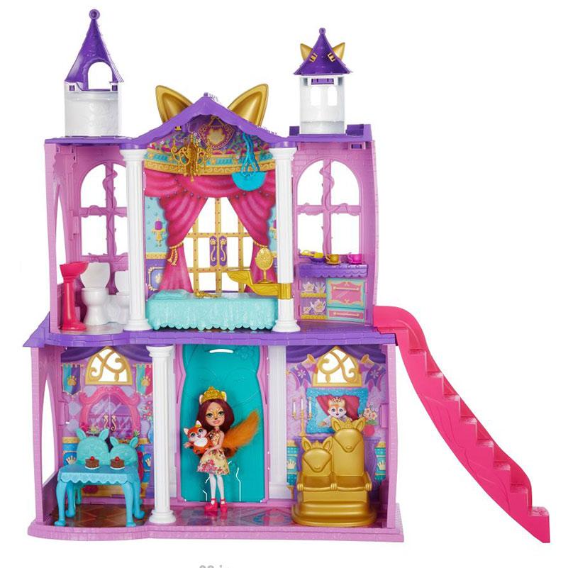 Enchantimals Kráľovský zámok kolekcie Royal herný set