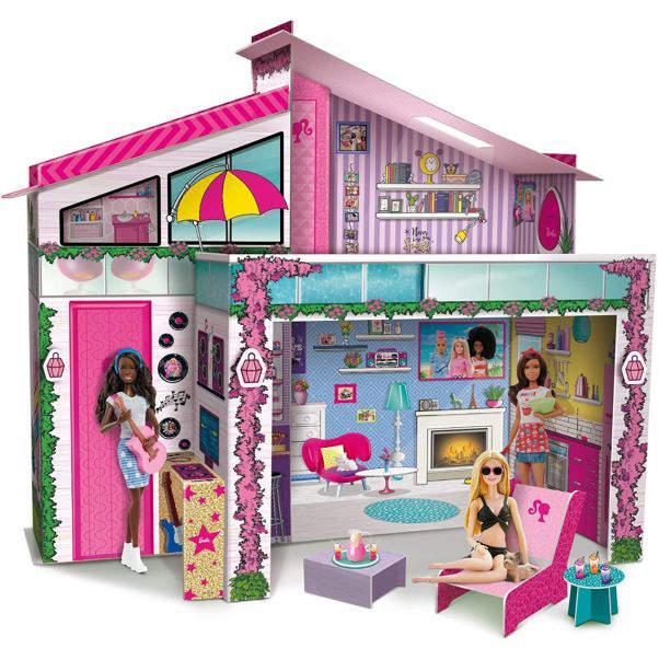 Lisciani domeček s panenkou Barbie