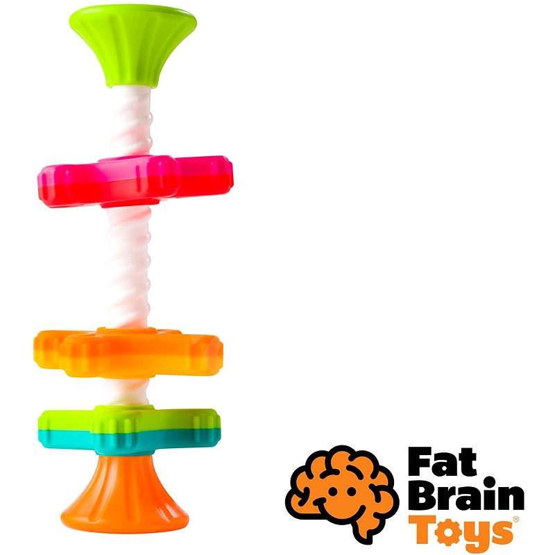 Fat Brain Rotujúce kotúčiky MiniSpinny
