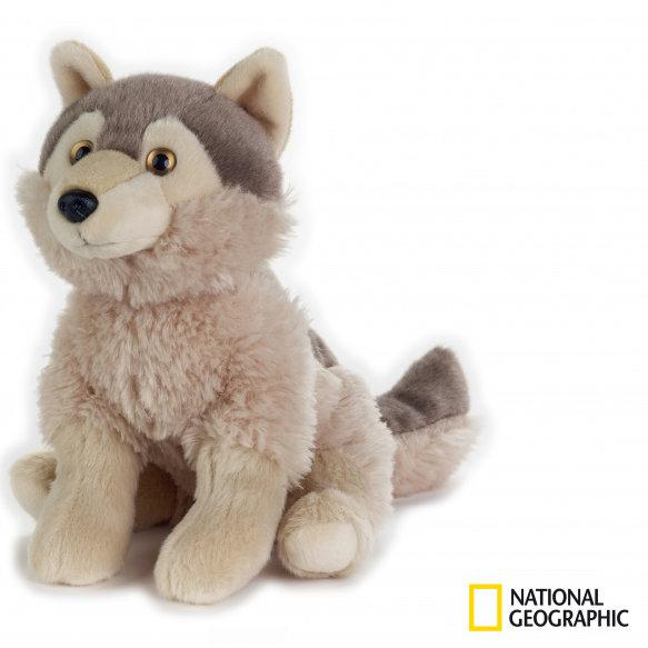 National Geographic plyšák Vlk