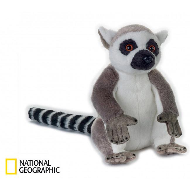 National Geographic plyšák Lemur