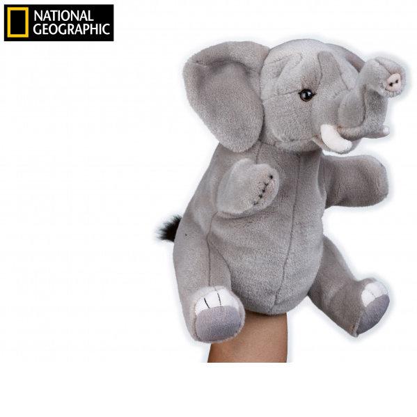 National Geographic maňásek Slon 26 cm
