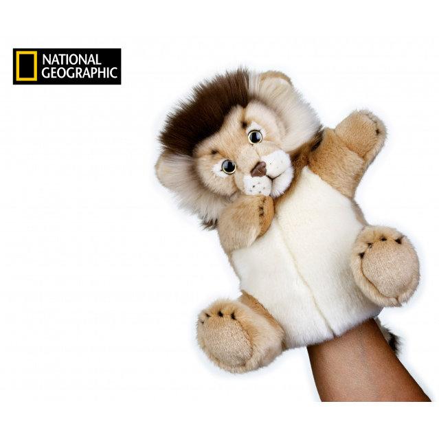 National Geographic maňásek Lev 26 cm