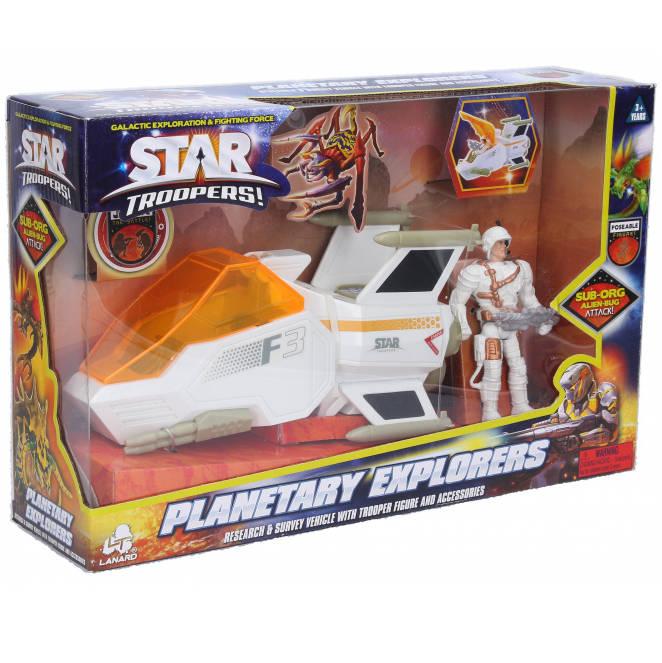 Star Troopers bojové vozidlá