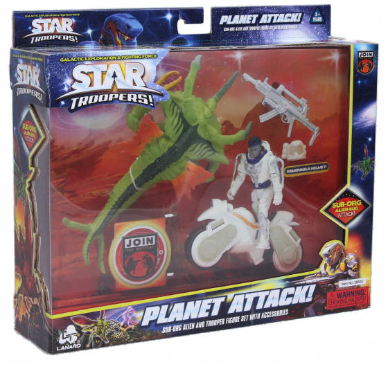 Star Troopers bitva s brouky, výsadková vozidla
