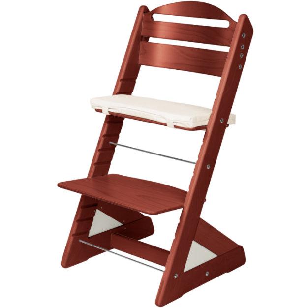 Dětská rostoucí židle JITRO PLUS mahagonová