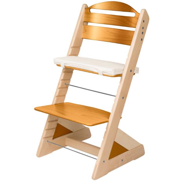 Dětská rostoucí židle JITRO PLUS bukovo - dubová