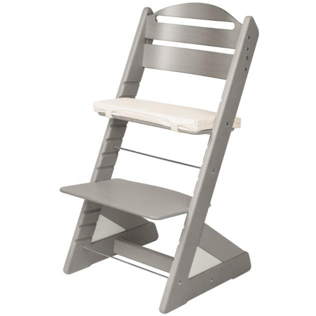 Dětská rostoucí židle JITRO PLUS šedá