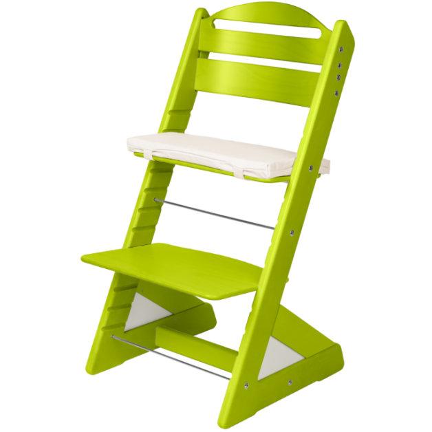 Dětská rostoucí židle JITRO PLUS světle zelená