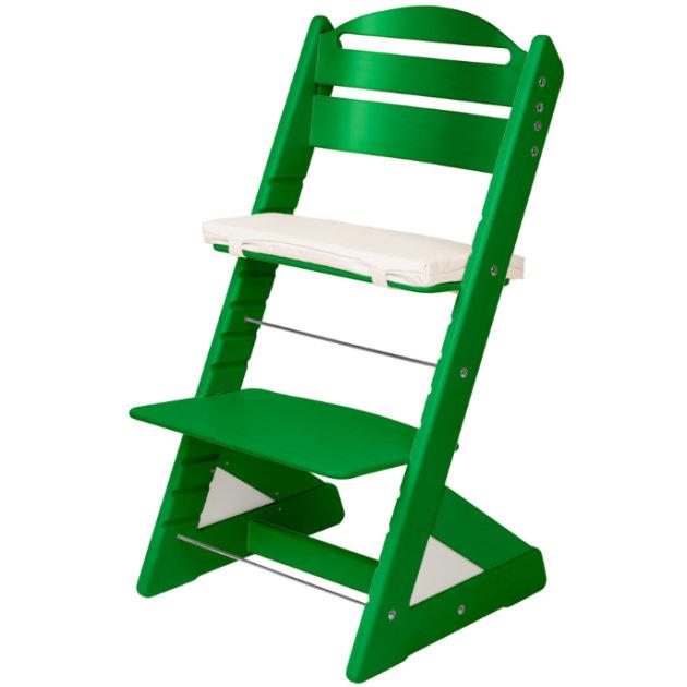 Dětská rostoucí židle JITRO PLUS zelená
