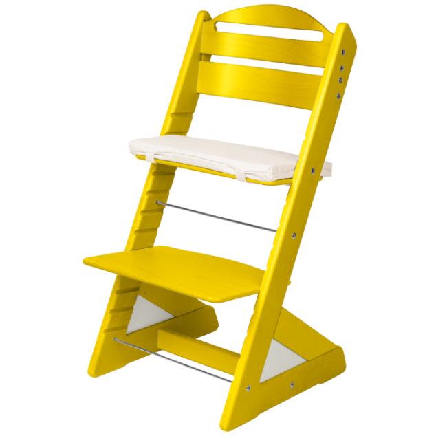 Dětská rostoucí židle JITRO PLUS žlutá