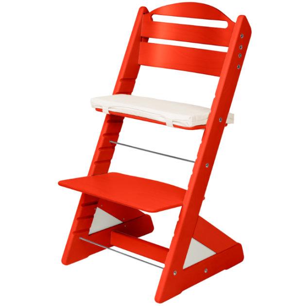Dětská rostoucí židle JITRO PLUS červená