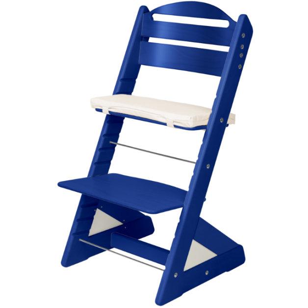 Dětská rostoucí židle JITRO PLUS modrá