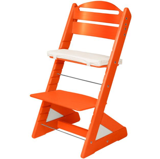 Dětská rostoucí židle JITRO PLUS oranžová