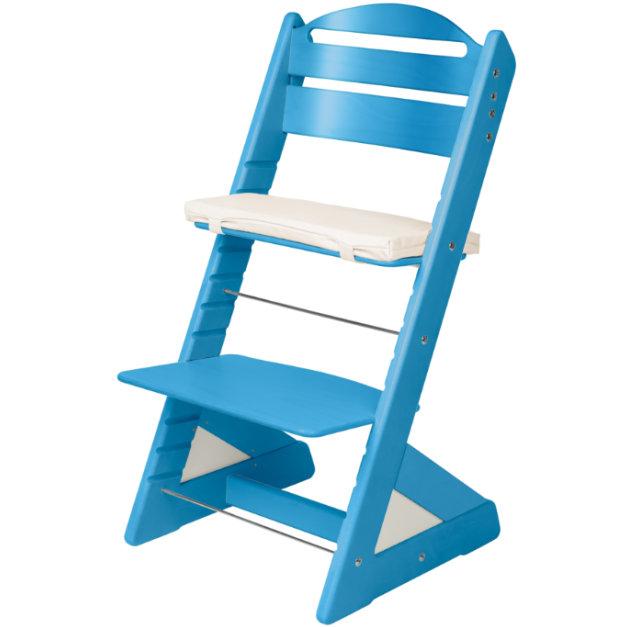 Dětská rostoucí židle JITRO PLUS světle modrá
