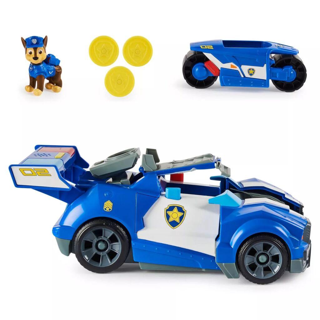 Tlapková patrola Chaseovo auto s motorkou v jednom