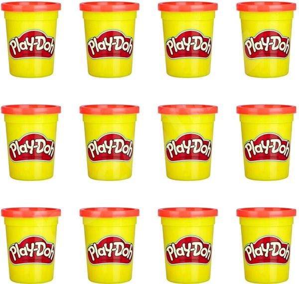 Play-Doh Balenie 12 ks kelímkov červená