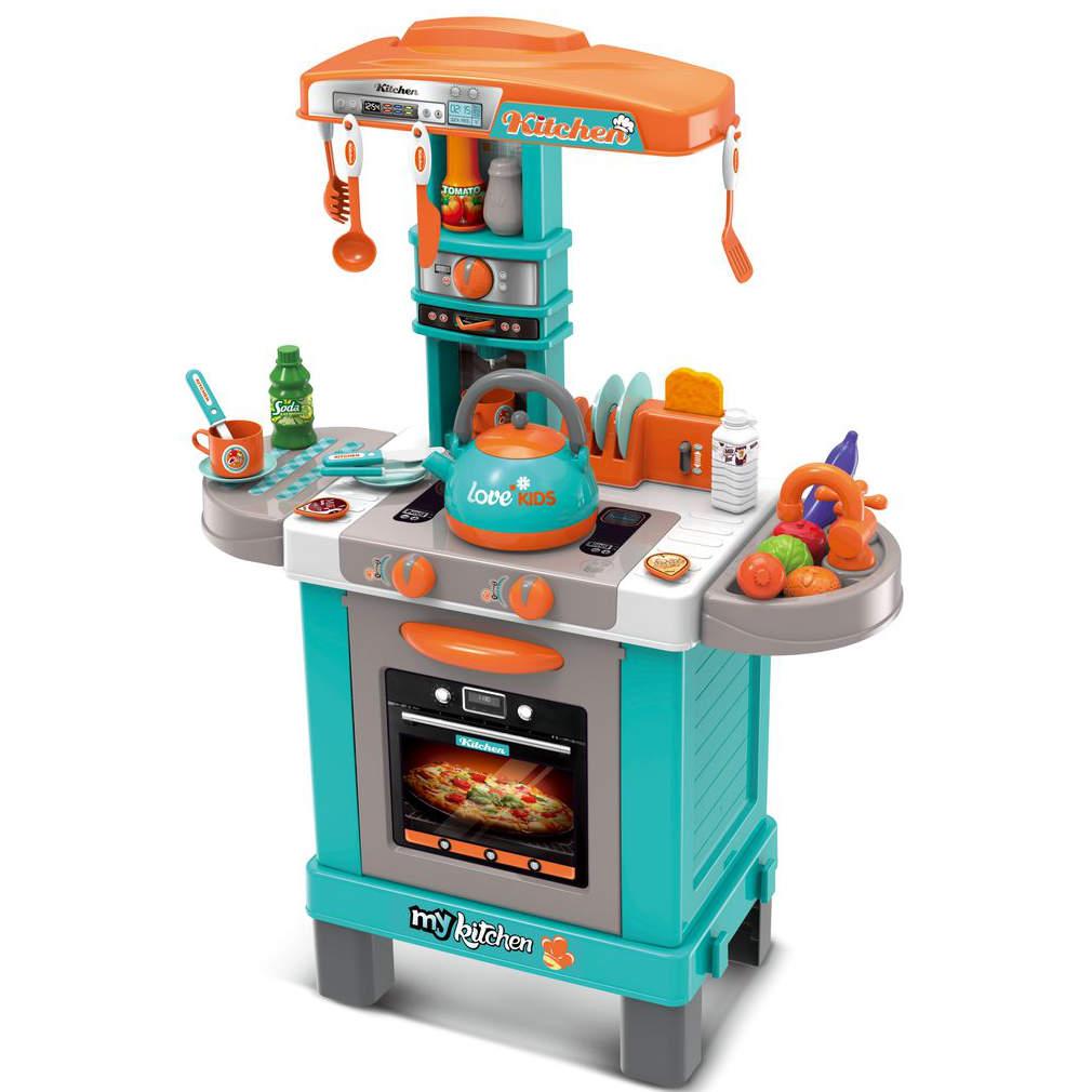 Kuchyňka s příslušenstvím a efekty 64x29x87 cm