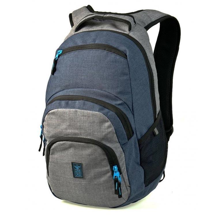 Studentský batoh Autonomy AU2 šedomodrý