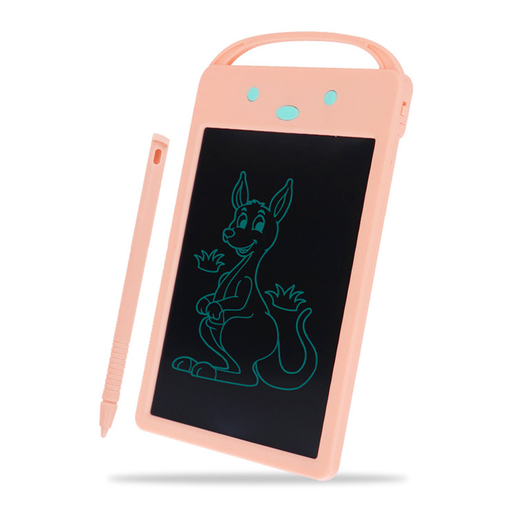 Detská elektronická kresliaca tabuľka - ružová