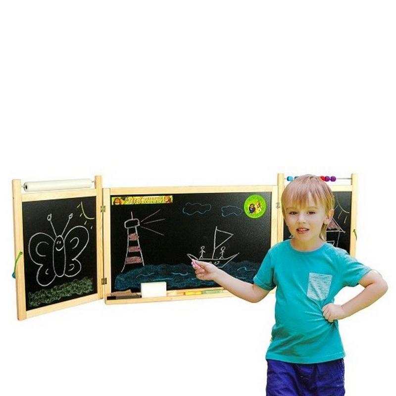 Detská skladacia tabuľa na stenu