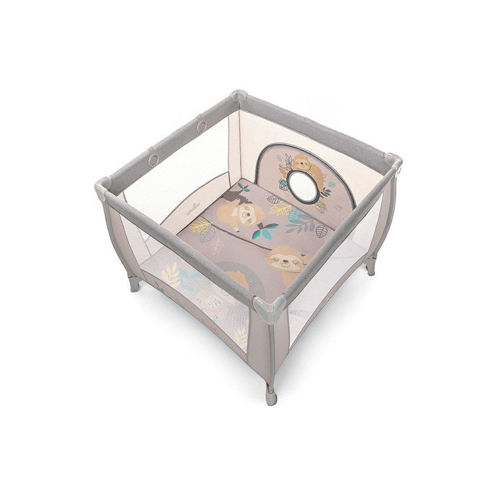 Baby Design Ohrádka Play UP 09  hnedá