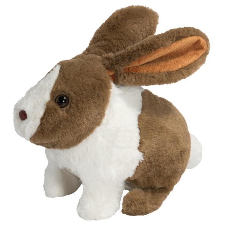 Veselý hopsající králíček