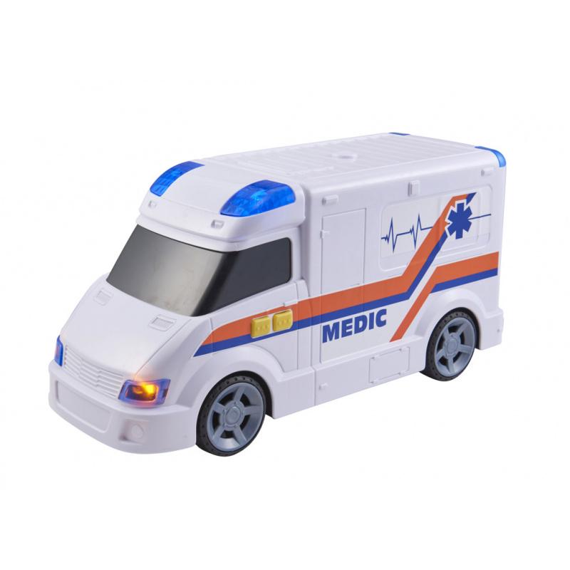 Teamsterz ambulance se zvukem a světlem