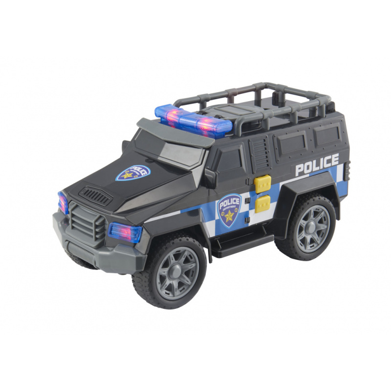 Teamsterz vojenské auto se zvukem a světlem