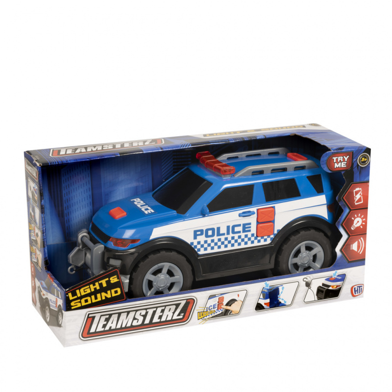 Teamsterz policejní auto 4x4 se zvukem a světlem