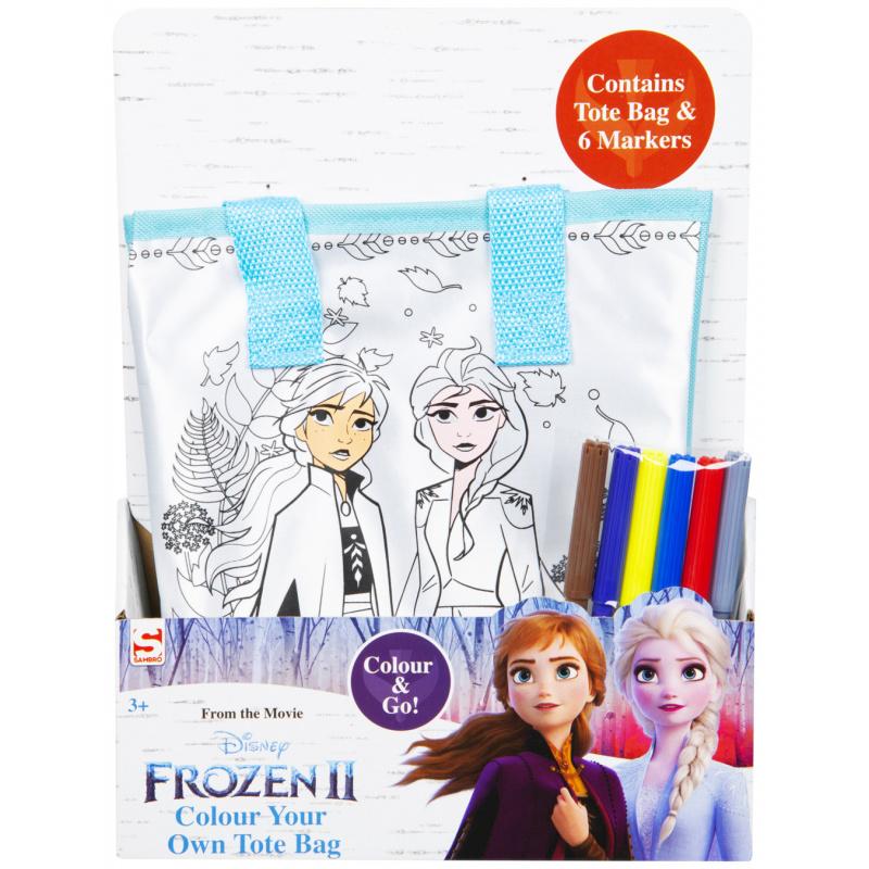 Vybarvi si svoji tašku Ledové království 2