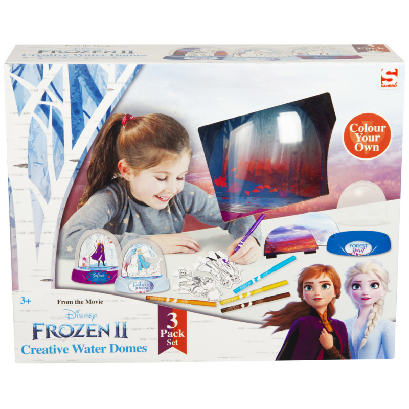 Sada na výrobu sněžítek Ledové království 2