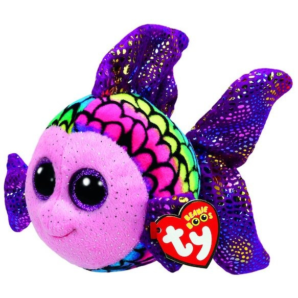 Beanie Boos plyšová rybička duhová 24 cm