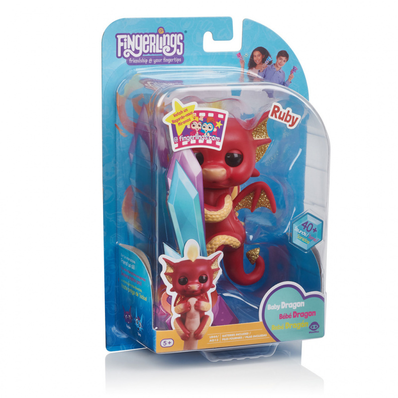 Fingerlings Baby Dráček Ruby