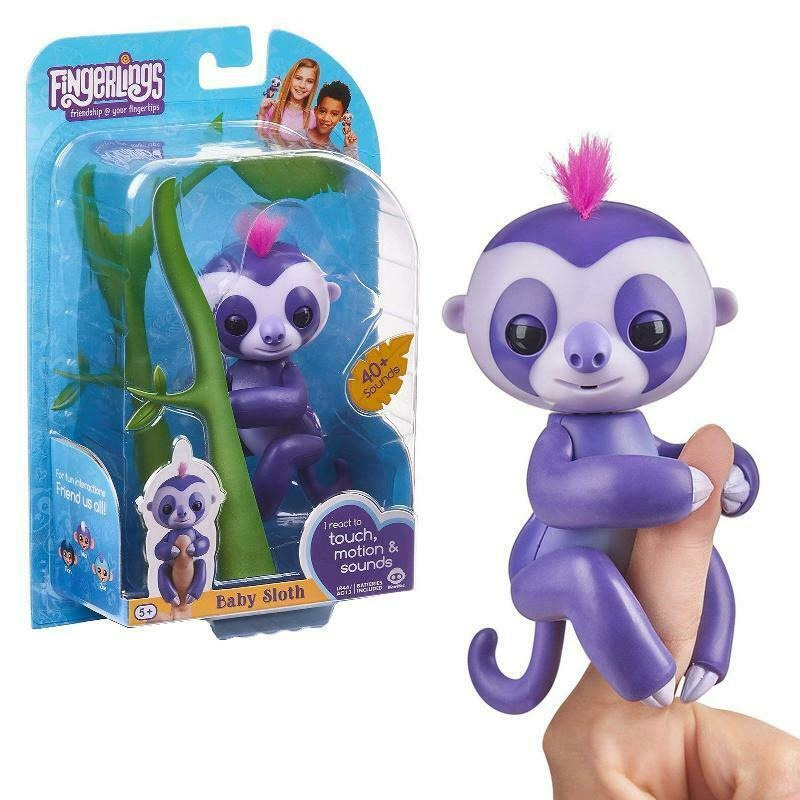 Fingerlings Baby Lenechod Marge