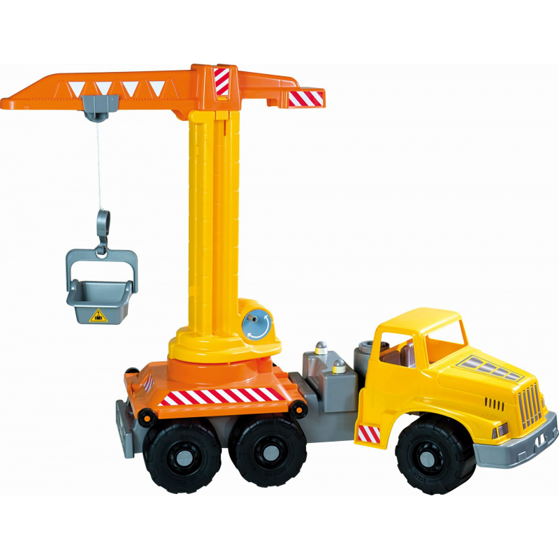Androni Giant Trucks Truck z dźwigiem - długość 71 cm