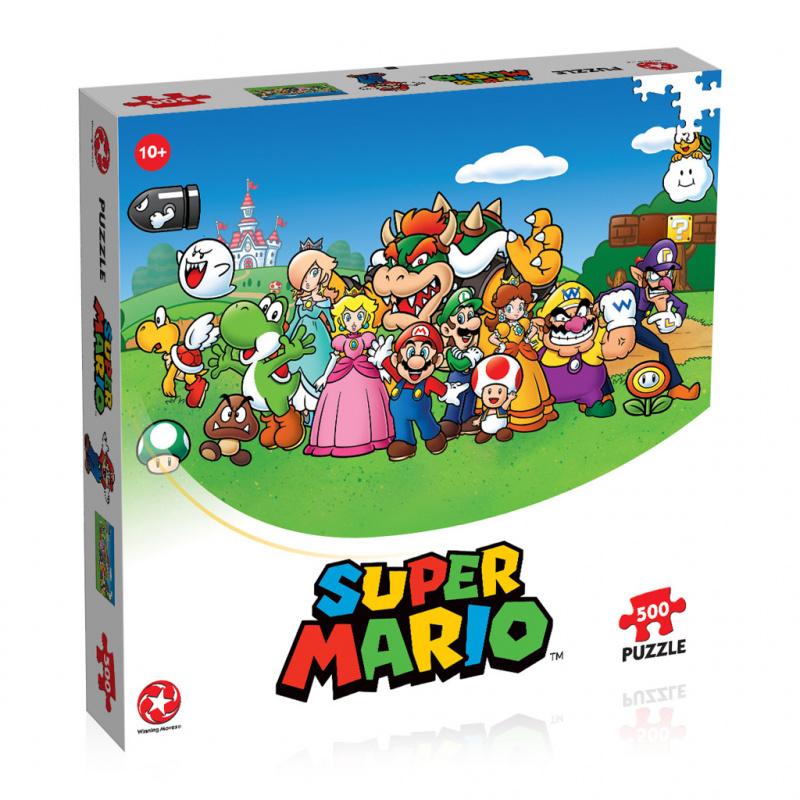 Puzzle Super Mario 500 dielikov