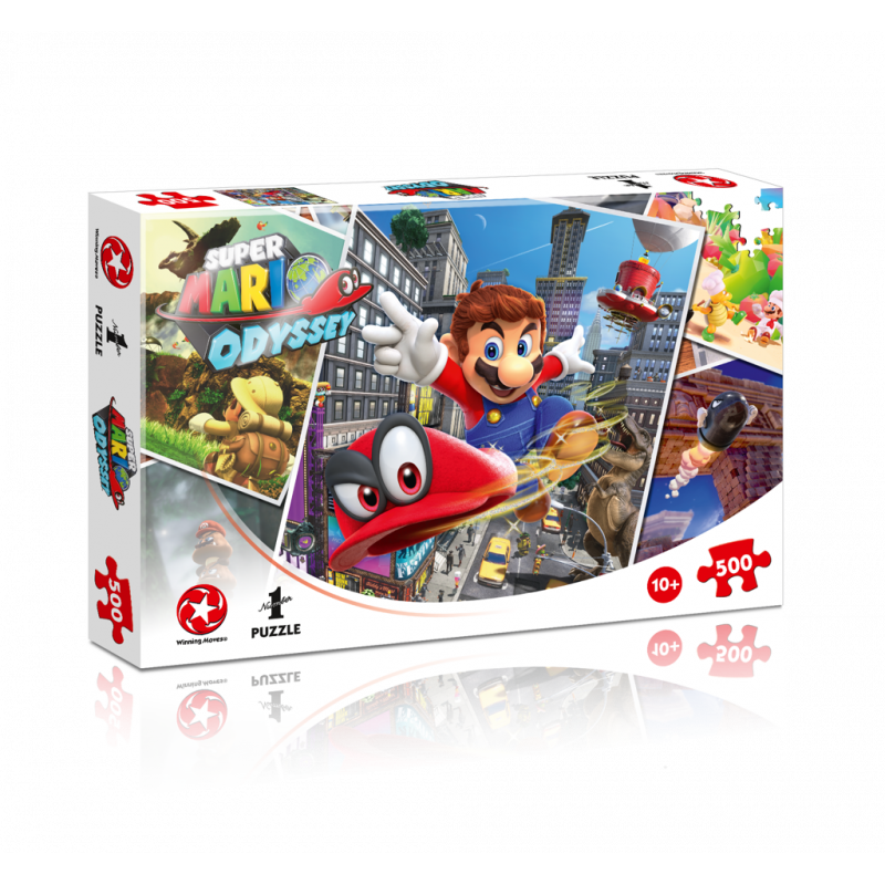 Puzzle Super Mario Odyssey 500 dielikov