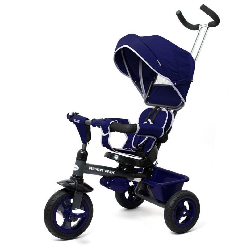 Dětská tříkolka Baby Mix 5v1 RIDER 360° modrá
