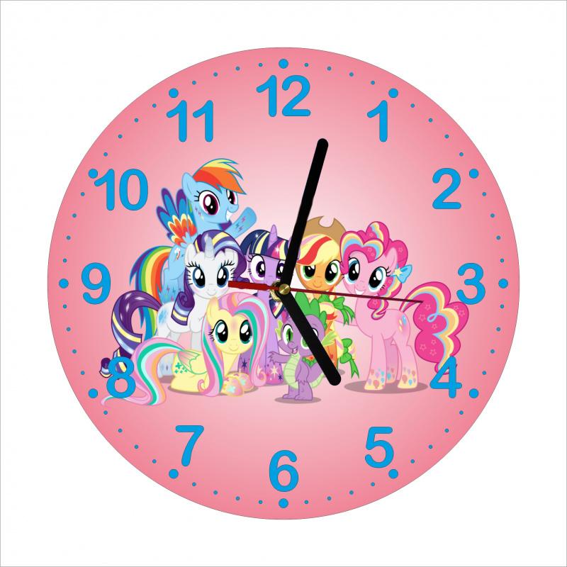 Detské hodiny Poníky