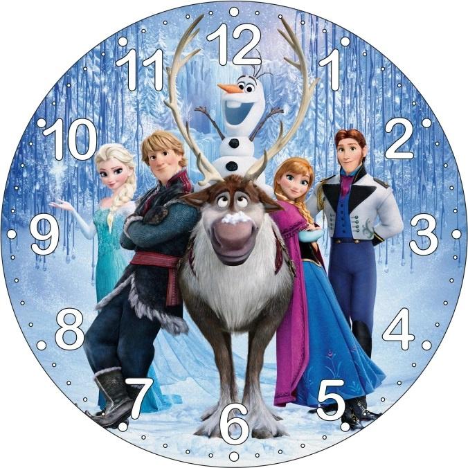 Dětské hodiny Frozen